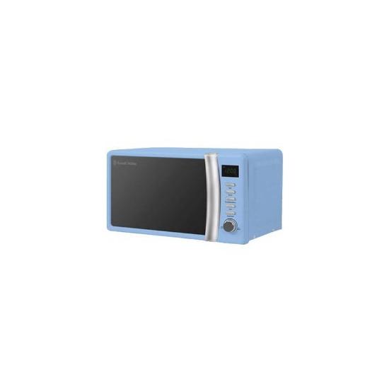 Russell Hobbs RHMD702BL 17 Litre Pastel Blue Digital Microwave