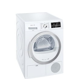Siemens WT46G490GB Freestanding condenser tumble dryer Reviews