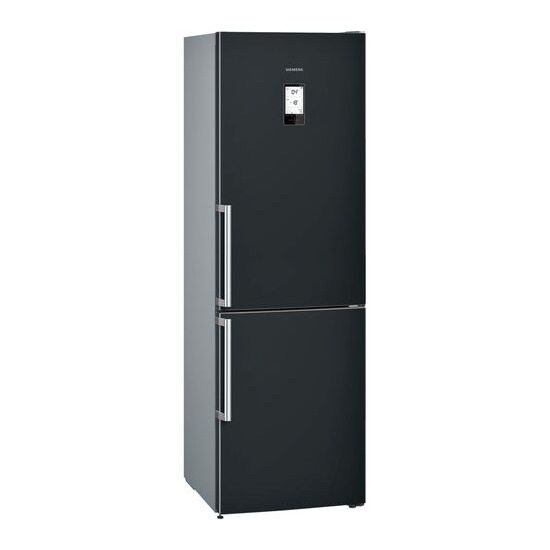 Siemens KG36NAB35G Black Freestanding frost free fridge freezer