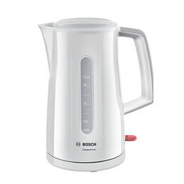 Bosch TWK3A031GB Cordless Jug Kettle 1.7litre 3.0kW Cool Touch White Reviews