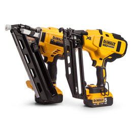 Dewalt DCK264P2 18V XR Cordless li-ion Brushless Nailer Twinpack (2 x 5Ah) Reviews