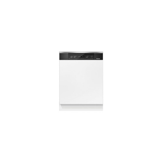 Miele G6825SCi XXL Full-size Semi-Integrated Dishwasher - Clean Steel