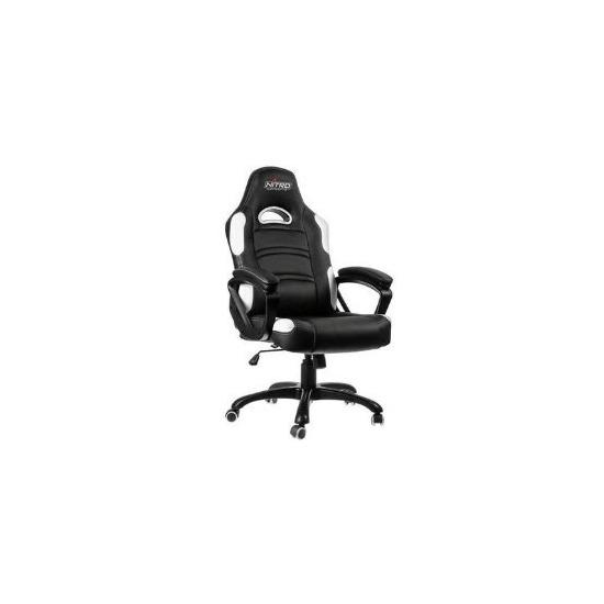 Nitro Concepts C80 Comfort Series Gaming Chair - Black/White
