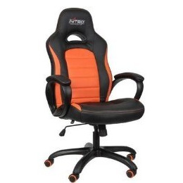 Nitro Concepts C80 Pure Series Gaming Chair - Black/Orange Reviews