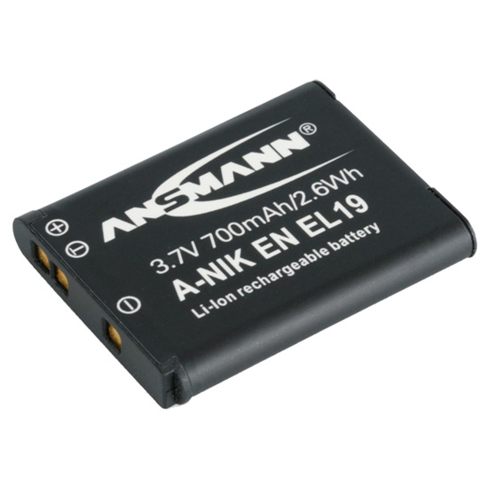 Ansmann Rechargable for Nikon EN EL 19