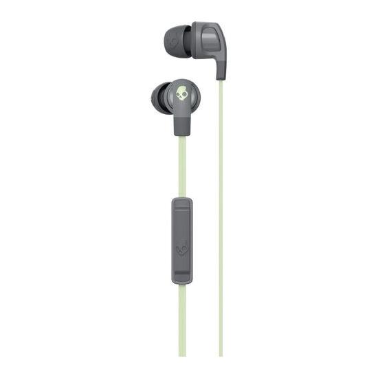 Skull Candy Smokin' Bud 2 Headphones - Grey & Mint