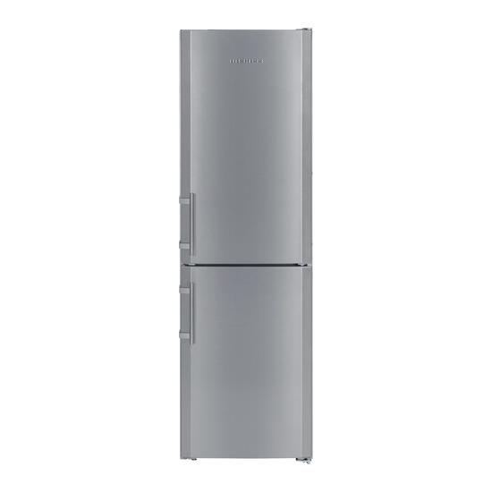 Liebherr CNsl 3033 Fridge Freezer - Silver