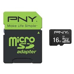 PNY Performance MicroSD + Adapter 50MB/s Reviews