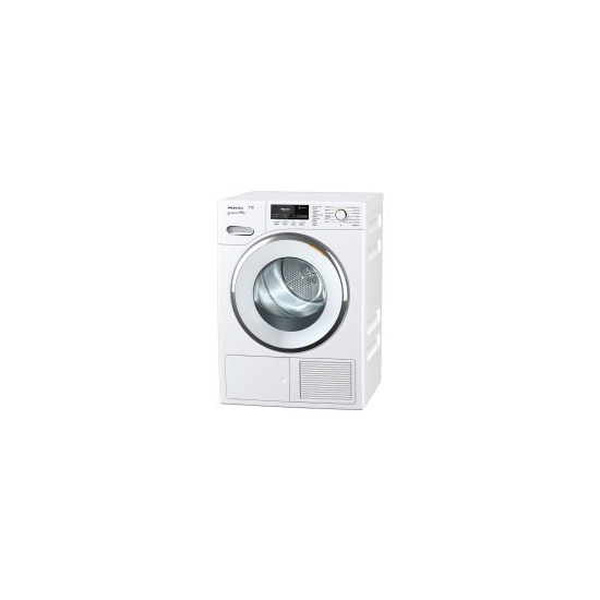 Miele TMR840WP 9kg Freestanding Condenser Tumble Dryer With Heat Pump Perfect Dry & FragranceDos