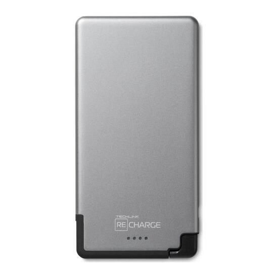 ReCharge 5000 Ultrathin Universal Lightning Charger - Grey & Black