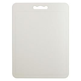 John Lewis Basics White Chopping Board