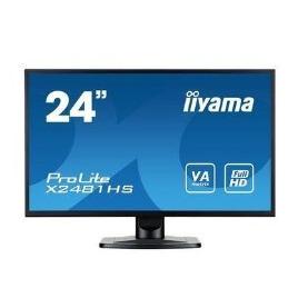 Iiyama X2481HS-B1 24 LED 1080p DVI HDMI Monitor Reviews