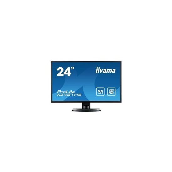 Iiyama X2481HS-B1 24 LED 1080p DVI HDMI Monitor