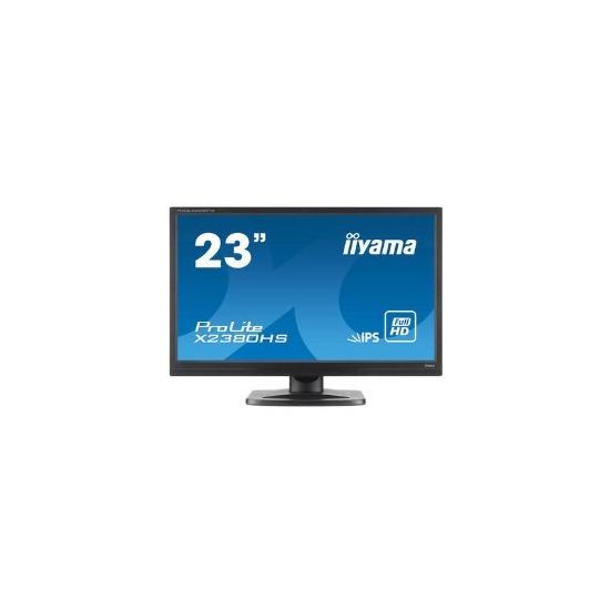 Iiyama Prolite X2380HS-B LED IPS VGA DVI-D HDMI 23 Monitor