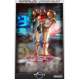 Samus Varia Suit Figurine