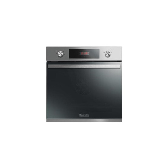 Baumatic BOFT604X Vantage Electric Single Fan Oven With Full Programmer Stainless Steel