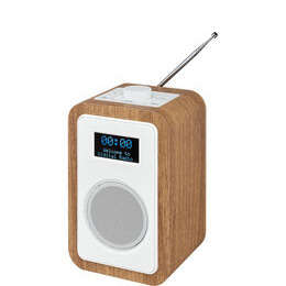 JVC RA-D51 DAB/FM Clock Radio - Wood & White Reviews