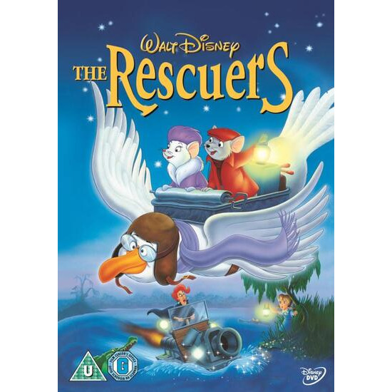 The Rescuers DVD Video