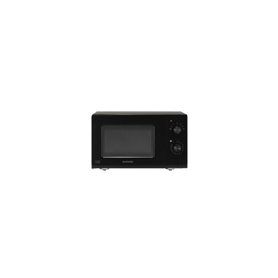 Daewoo KOR7LC7BK 20 litre 800 W Manual Control Microwave Oven with CRS 7 variable power levels