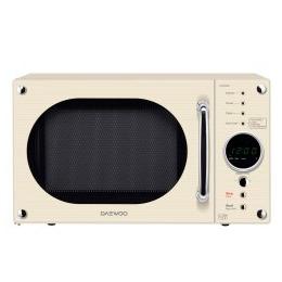 Daewoo KOR8A9RC 23 litre 800 W Retro Design Microwave Oven Cream Reviews