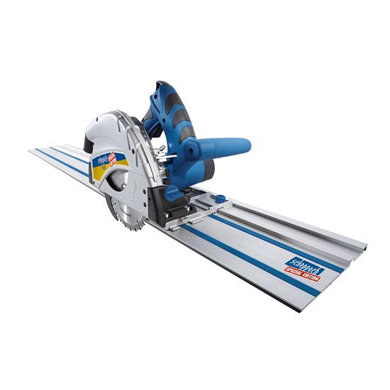 Scheppach PL55-P2 160mm Plunge Saw Set + 2 x 700mm Guide Rails 240V