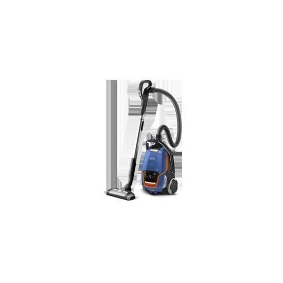 AEG UODELUXE+ Vacuum Cleaner in Steel Blue Metallic