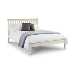 Julian Bowen Salerno Shaker Ivory Kingsize Bed Frame Reviews