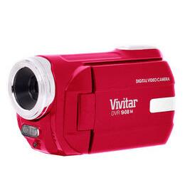 Vivitar DVR908MFD Traditional Camcorder - Red Reviews