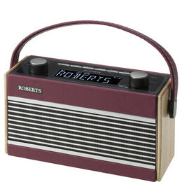 Rambler Portable DAB+/FM Clock Radio - Burgundy Reviews