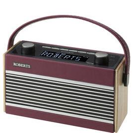 Rambler Portable DAB+/FM Clock Radio - Burgundy Reviews