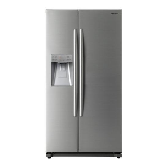 Daewoo DRQ29DES American-Style Fridge Freezer - Silver