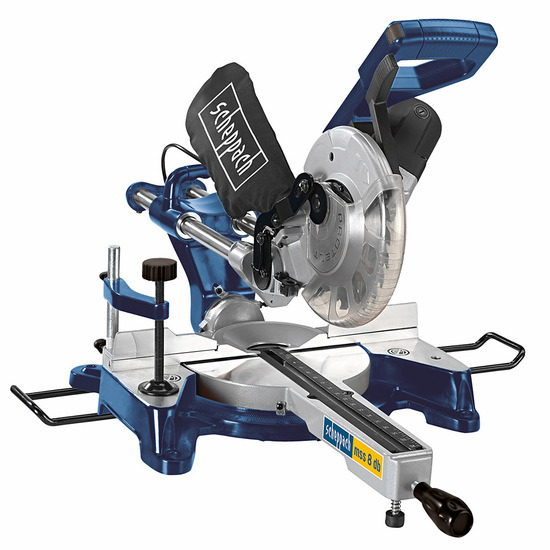 Scheppach HM80DB 8 Inch Double Bevel Sliding Compound Mitre Saw 240V