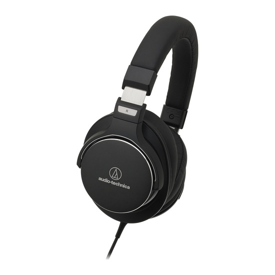 Audio-Technica ATH-MSR7NC Noise-Cancelling Headphones - Black