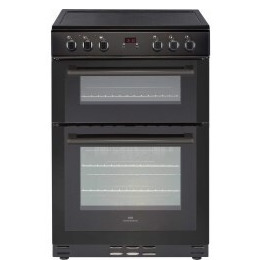 New World 444444028 60cm Wide Electric Double Oven Cooker With Ceramic Hob And Minute Minder Reviews