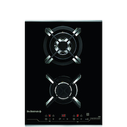De Dietrich DTG1138X Black glass Domino gas hob Reviews