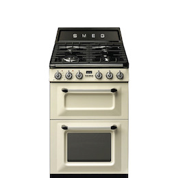SMEG TR62P Cream 600mm dual fuel range cooker Reviews