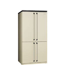 SMEG FQ960P Cream French Door Fridge freezer Reviews