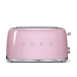 SMEG TSF02PKUK Pink 4 slice toaster Reviews