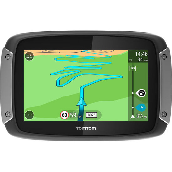 Rider 40 WE Motorcycle 4.3 Sat Nav - with UK ROI & Western Europe Maps