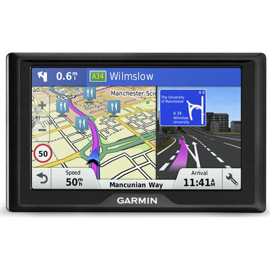 "GARMIN Drive 50 LM EU 5"" Sat Nav - with UK, ROI & Full Europe Maps"