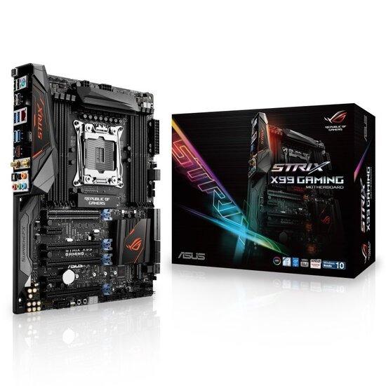 Asus Strix X99 Gaming Socket LGA 2011-v3 8-Channel HD Audio ATX Motherboard