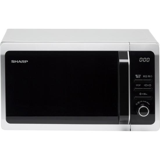 Sharp R274SLM Solo Microwave - Silver