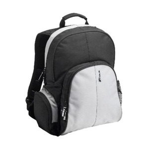 Photo of Notebook Essential Backpack Black/ Grey Nylon Laptop Bag