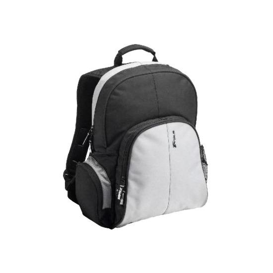 Notebook Essential Backpack Black/ Grey Nylon