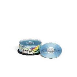 TDK CD-R 80min 700MB 52X Cakebox 25 pack Reviews