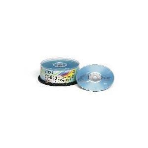 Photo of TDK CD-R 80MIN 700MB 52X Cakebox 25 Pack CD R