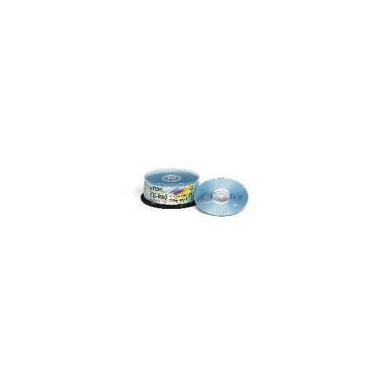 TDK CD-R 80min 700MB 52X Cakebox 25 pack