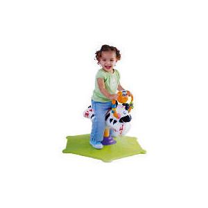 Photo of Fisher-Price Bounce & Spin Zebra Toy