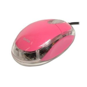 Photo of Pink Mouse Computer Mouse