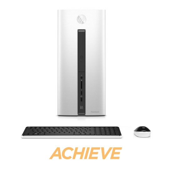 HP Pavilion 550-103na Desktop PC - White